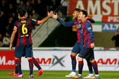 #Xavi #Messi #Neymar