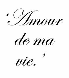 French Love Quotes Quote… In French You Don't Say 'i Miss You'you Say ~ 'you Are