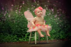 little girl photography, fairy wings, flowers, pink, magical, Lisa Karr Photography, Beloit Wisconsin, Find on Facebook