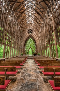 Glass Chapel in the Woods, Arkansas | Incredible Pictures.