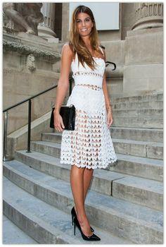 Art Symphony: The Crochet Dress