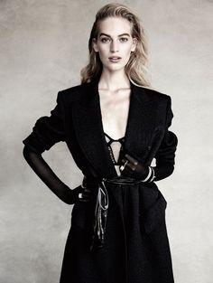 Vanessa Axente In Modern Elegance, Lensed by Patrick Demarchelier For Vogue Spain December 2014 — Anne of Carversville
