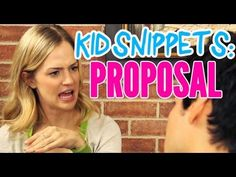 "Kid Snippets: ""Proposal"" (Imagined by Kids)"