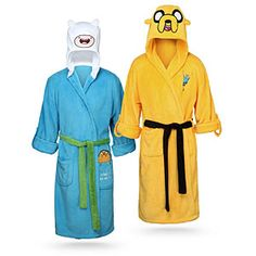 Adventure Time Fleece Bathrobe