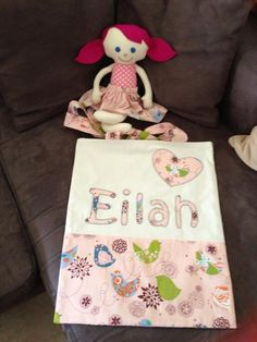 Library bag and doll for Eilah
