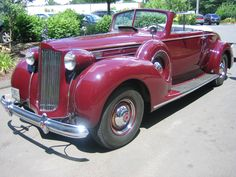 1938 Packard V-12 Convertible Coupe