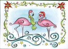 Google Image Result for http://flamingochristmas.com/images/large/santa_flamingo_christmas_cards_LRG.jpg