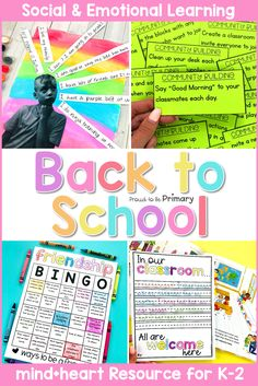 Teach social-emotional learning lessons the first weeks of school with this back to school SEL resource that includes lesson ideas […] Teaching Respect, Teaching Social Skills, Teaching Resources, Social Emotional Development, Social Emotional Learning, Classroom Activities, Learning Activities, School Classroom, Character Education Lessons