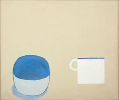William Scott, Forms Domestic, 1976, Oil on canvas, 63.8 × 75.9 cm / 25 × 30 in, Private collection