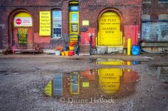 Puddle Reflections in the West Bottoms