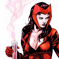 Scarlet Witch in Uncanny Avengers Annual #1 - Paul Renaud
