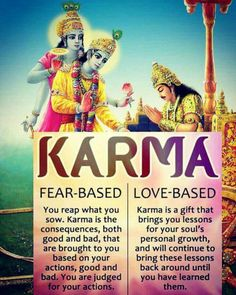 Karma that is love based is true devotion and one of greater results of benefit #Krishna #BhagavadGita