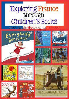 Studying France with your kids? Other than visiting, I can't think of a better way to learn than curling up to read these children's books about France. Teaching Geography, World Geography, France Geography, Geography Lessons, France For Kids, France Craft, Teaching Reading, Learning, Around The World Theme