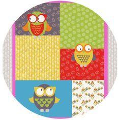 Maywood Studio, Woodland Walk, Owl You Alright Bright (35 Inch Panel)