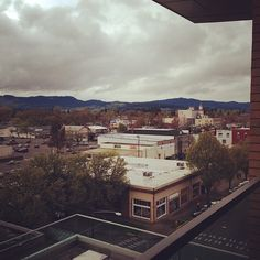 Downtown Corvallis, Oregon - taken from the Vue.