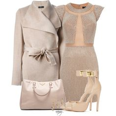 A fashion look from November 2014 featuring Joseph coats, Steve Madden shoes and Prada tote bags. Browse and shop related looks.