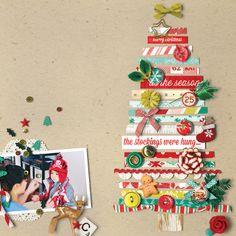 Sweet Shoppe Designs :: Digital Scrap Kits :: Fa La La La La by Jenn Barrette and Mari Koegelenberg ♥Tree!