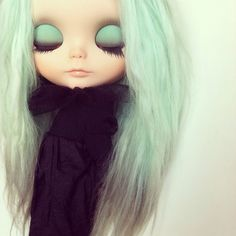 OOAK custom Blythe doll by Sharon Avital  by StrangeFruitShop, $720.00