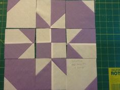 """Disappearing Hourglass 12.5"""" Block tutorial, as shown on Missouri Star Quilting (but not Jenny's tutorial!)"""