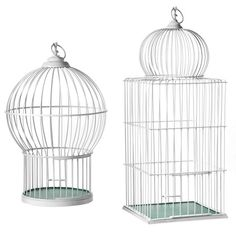 We adore these West Elm birdcages...