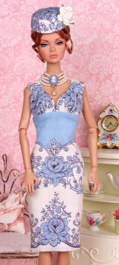 Alicia Blue for Silkstone Barbies by HankieChic on Etsy