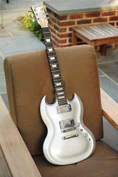 Gibson SG Diablo Silver