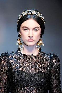 Dolce & Gabbana - Jacquelyn Jablonski