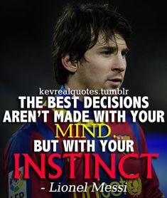 Messi quotes.