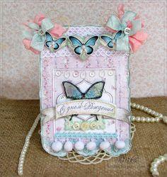 Открытки: с бабочками на день рождения девочке и не только. Happy birthday cards