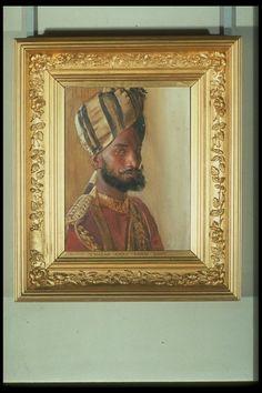 Rudolf Swoboda (1859-1914) - Jemadar Abdul Karim Khan, Viceroy's Bodyguard