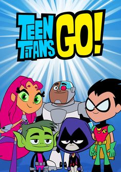 Teen Titans Go! - Superhero roommates Robin, Starfire, Raven, Beast Boy and Cyborg protect Jump City from evildoers, when they're not too busy bickering and competing. Cartoon Cartoon, Cartoon Shows, Time Cartoon, Cartoon Girls, Teen Titans Go, Deathstroke, Usa Tv Shows, Desenhos Cartoon Network, Beast Boy