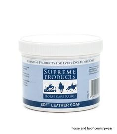 Supreme Products Soft Leather Soap A soft leather soap that can be used on all leather items to clean soften refresh and add shine.