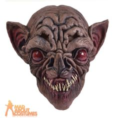 Adult Bat Mask Animal Unisex Halloween Horror Fancy Dress Accessory New