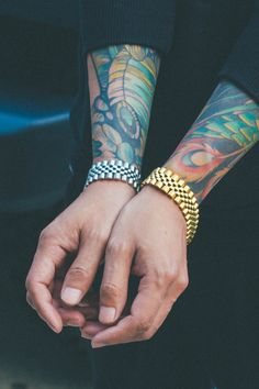 Every man needs to own these edgy bracelets by MISTER.rn