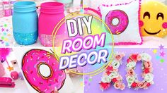 DIY Spring Room Decor! DIY Room decor for teenagers! Bright, Fun and Affordable Room Decor!