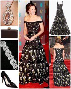 katemiddleton Instagram:  Duchess of Cambridge at the BAFTA Awards, February 12, 2017