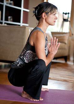 Yogic Squat- Great for lower back and hips