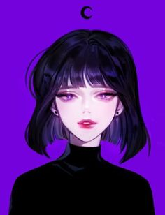 ~ This is a girl from the movie Sailor Moon i dont know her name so dont ask me. Art Anime Fille, Anime Art Girl, Manga Girl, Dark Anime Art, Anime Girls, Anime Girl Short Hair, Manga Anime, Arte Sailor Moon, Sailor Saturn