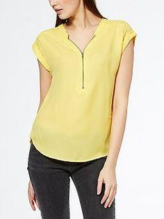 Blusas mujer   blusas de gasa   blusas con encaje   ropa Mujer   Kiabi