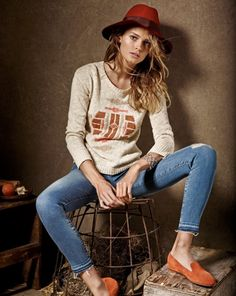 Edita Vilkeviciute Is A Denim Babe For Fortunate Brand