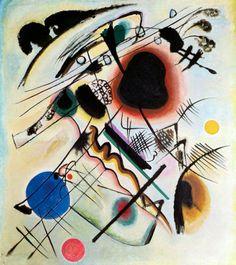 Wassily Kandinsky, Black Spot (1921) on ArtStack #wassily-kandinsky-vasilii-vasil-ievich-kandinskii #art