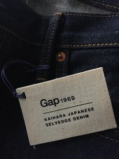 New #selvedge denim from the GAP. Limited edition skinny pair. #jeans #MyStyle
