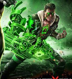 Earth 17 - Atomic Green Lantern