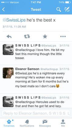 Sam Hammond loves cats