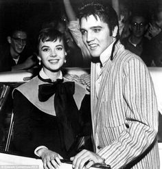 Splendor: Natalie Wood, the Oscar-nominated star of Rebel Without A Cause, met Presley when she was 18 and he was 21