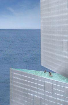Steven Holl Architects - Sail Hybrid, Belgium
