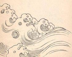 japanese wave nobrashfestivity ripple brash waves books typography 1919 festivity theme mori yuzan notes via drawings permalink simple raymi minx