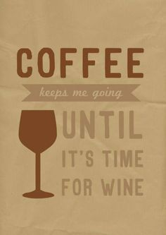 Is it time for wine yet?