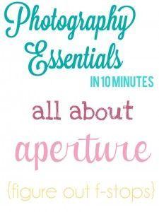 Photography exposure essentials in 10: Aperture #phototips #aperture #photography