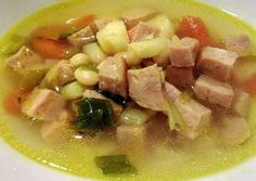 Easy Ham and White Bean Soup Recipe -  Let's cook Easy Ham and White Bean Soup by yourself!